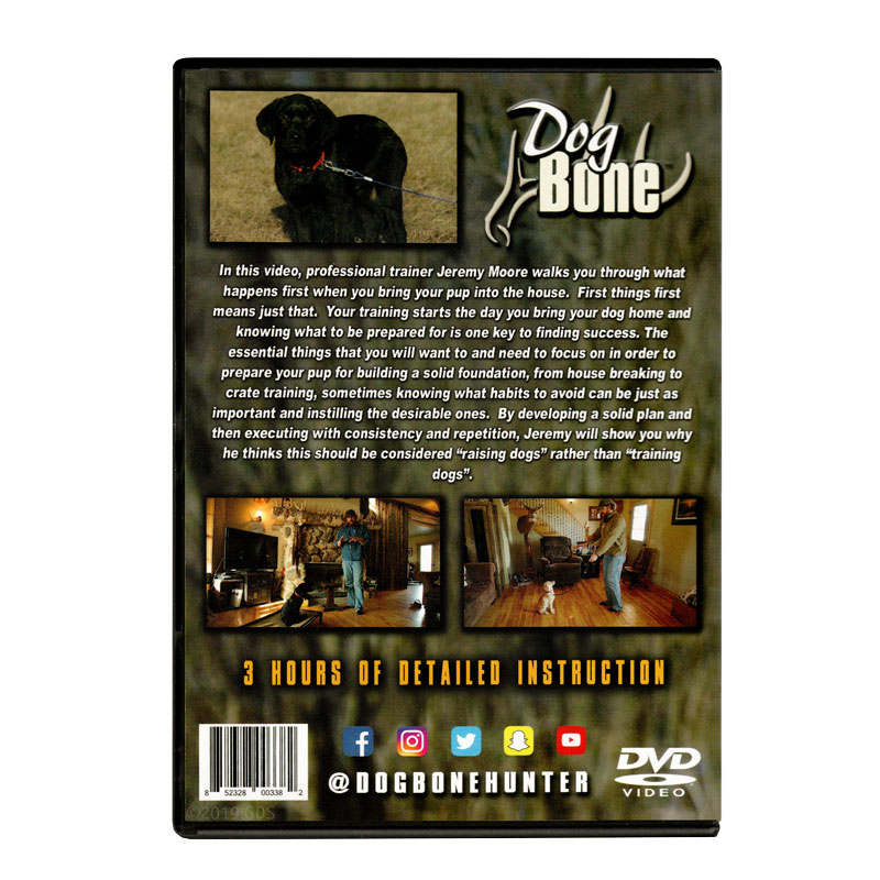 Puppy Training DVD Back