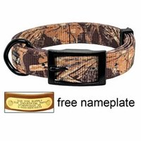 shop Realtree Max 4 Camo 2-ply Nylon D-End Dog Collar