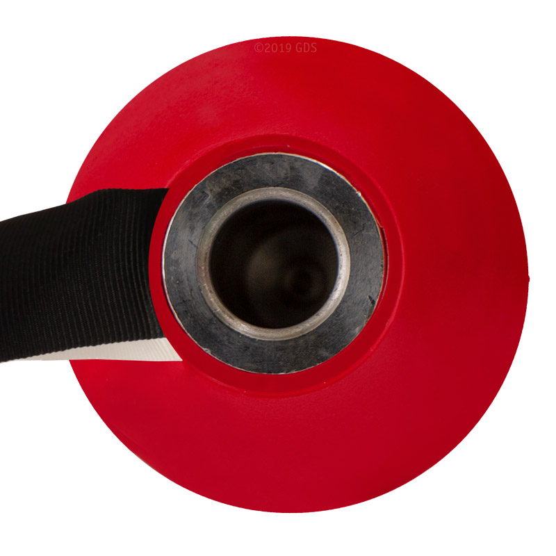 Red Plastic Dummy Top View