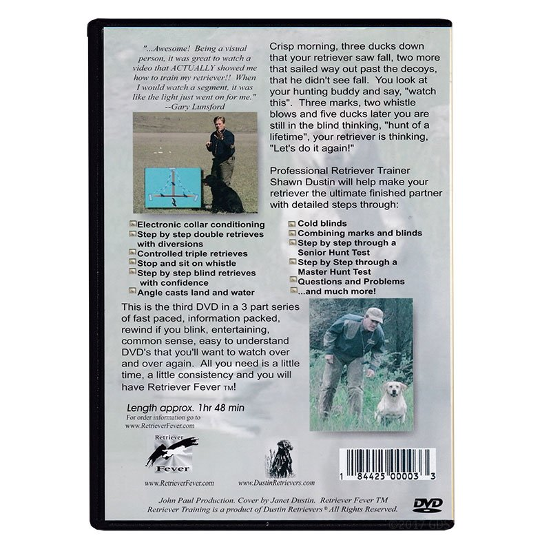 Retriever Fever 3 DVD back