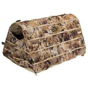 shop Rig Em Right Field Bully Collapsible Dog Blind -- Optifade Camo