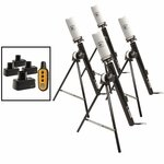 shop RRT Side-Kick 4 Shot Multi-Location Dummy Launcher Set with Garmin PRO Control 2 Electronics