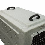 shop Ruff Tough Kennel with Handles Attached