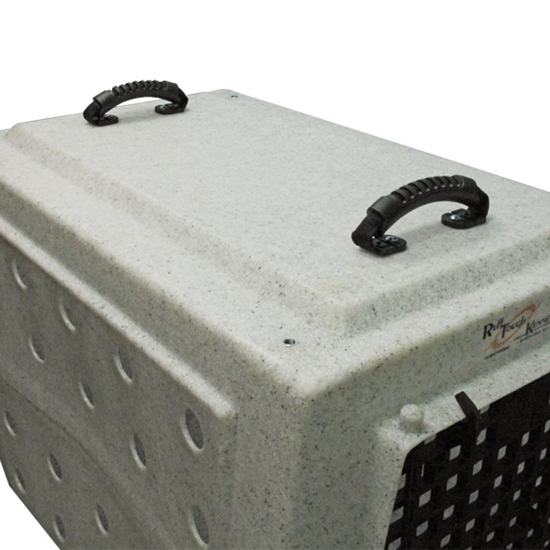 Ruff Tough Kennel with Handles Attached