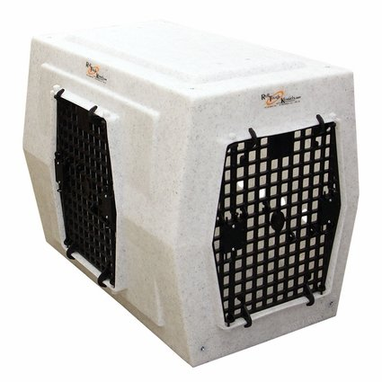 Ruff Tough Kennels Large Left Side Entry Double Door Dog