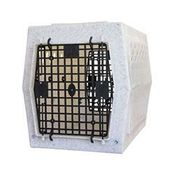 shop Ruff Land Kennels Medium Double Door Dog Crate