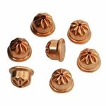 shop RWS Crimped .22 cal / 6mm Copper Coated Steel Acorn Blanks -- 100 ct