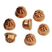 shop RWS Crimped .22 cal / 6mm Copper Coated Steel Acorn Blanks (200 rounds -- 2 boxes)