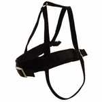 "shop SAVE 20%! -- ""Scratch & Dent"" Double Ply 1"" Black Nylon Roading Harness by Scott"
