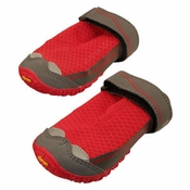 shop SAVE 20%! -- Scratch & Dent Red Grip Trex Dog Boots by Ruff Wear -- Set of 2
