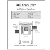 shop How to Build a Pigeon House / Coop -  Plans