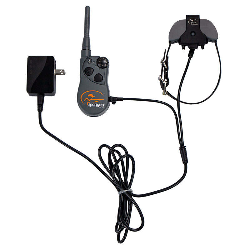 SD-1825X Transmitter and Collar on Charger