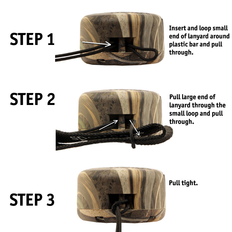 SD-425X Camo Lanyard Instructions
