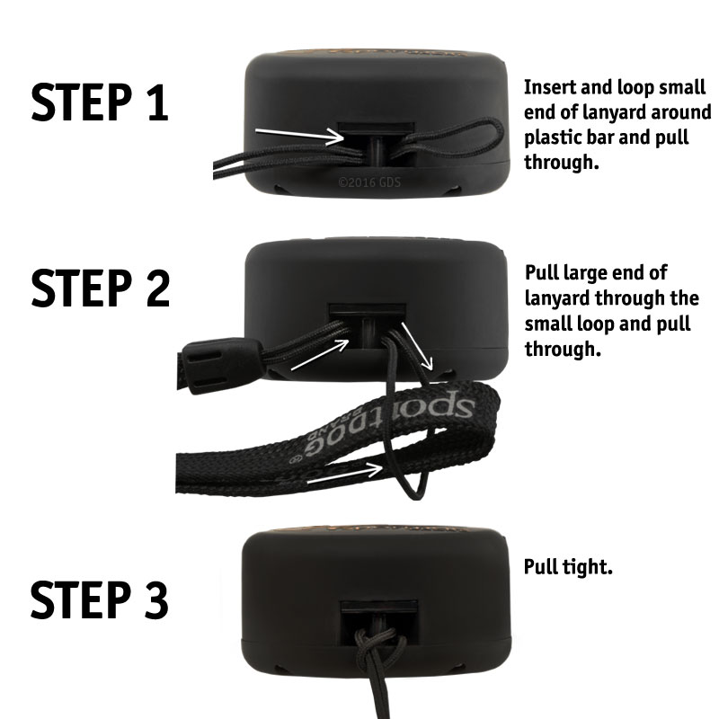 SD-825X Lanyard Instructions