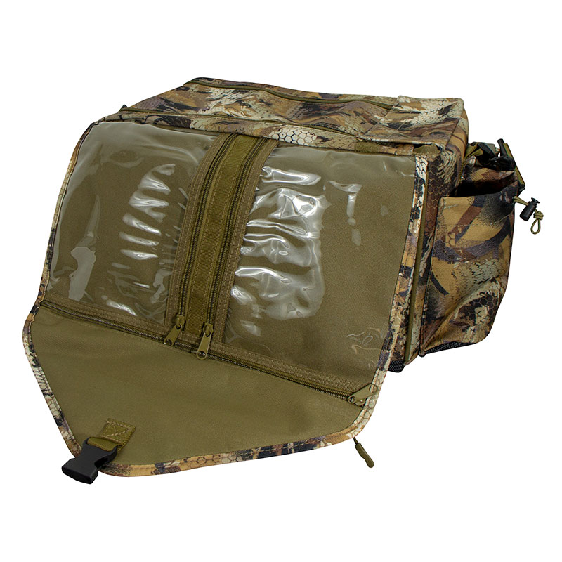 Shell Shocker XLT Optifade Blind and Gear Bag Flap Unbuckled