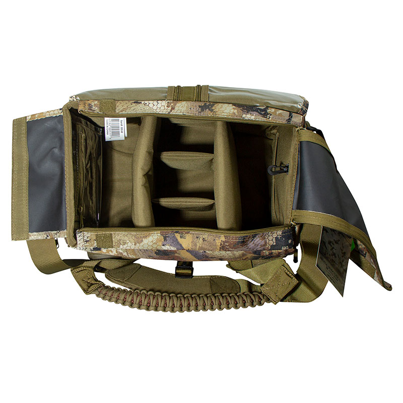 Shell Shocker XLT Optifade Blind and Gear Bag Inside