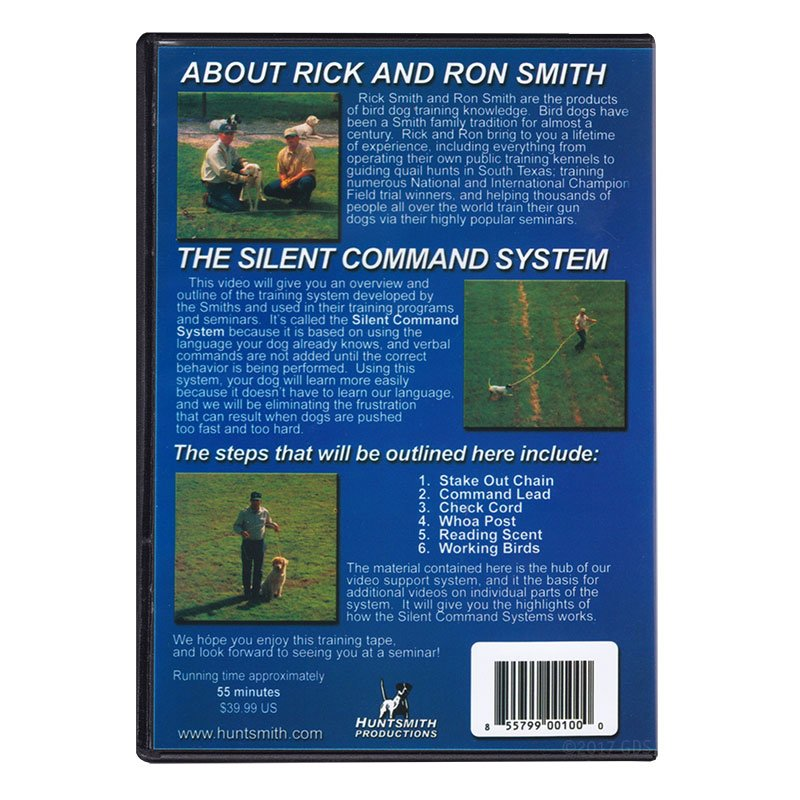 Silent Command I DVD back