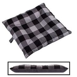shop BLOWOUT SALE -- SMALL Bizzy Beds® Dog Bed -- Buffalo Black / Gray Two-Tone