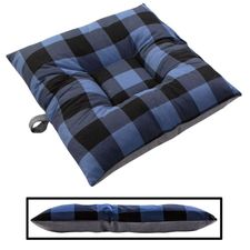 shop SMALL Bizzy Beds™ Dog Bed -- Buffalo Blue / Gray Two-Tone