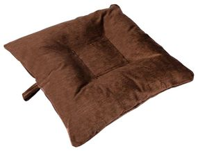shop SMALL Bizzy Beds™ Dog Bed with Zipper -- Brown
