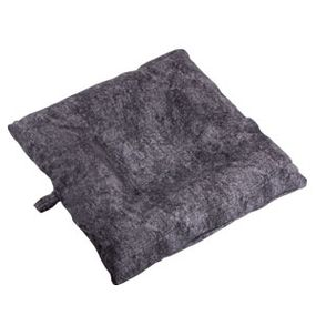 shop SMALL Bizzy Beds™ Dog Bed with Zipper -- Charcoal