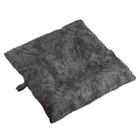 shop SMALL Bizzy Beds® Dog Bed with Zipper -- Charcoal