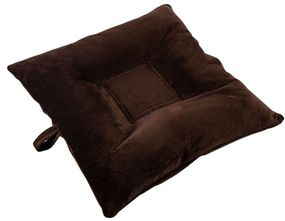 shop SMALL Bizzy Beds™ Dog Bed with Zipper -- Chocolate