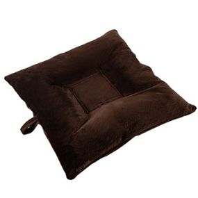 shop SMALL Bizzy Beds® Dog Bed with Zipper -- Chocolate