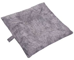 shop SMALL Bizzy Beds™ Dog Bed with Zipper -- Granite