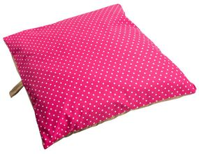 shop SMALL Bizzy Beds™ Pillow Bed -- Pink Polka Dot