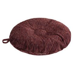 shop SMALL Round Bizzy Beds® Dog Bed -- Burgundy Wine