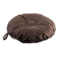 shop SMALL Round Bizzy Beds® Dog Bed -- Coffee