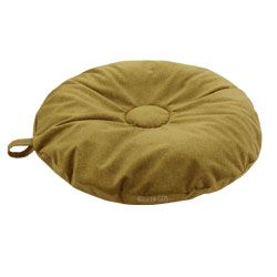 shop SMALL Round Bizzy Beds® Dog Bed -- Moss