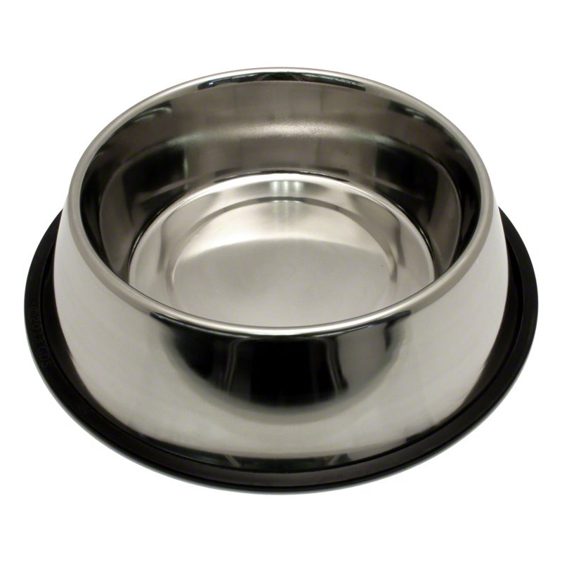 Small Stainless Steel No Tip Dog Food Amp Water Bowl 8302