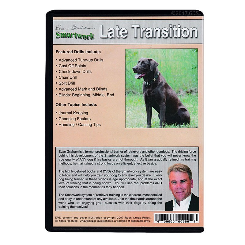 Smartwork Transition Phase 3: Late Transition Drills DVD back