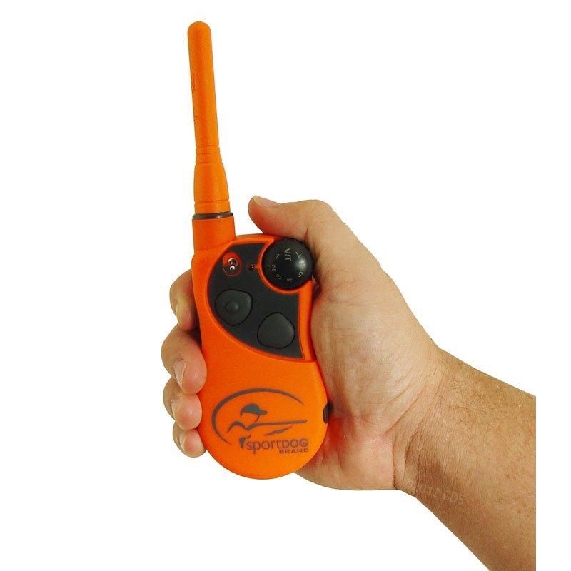 SportDOG SD-1875 Transmitter in Hand