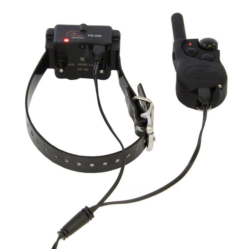 SportDOG SD-350 Transmitter and Collar on Charger