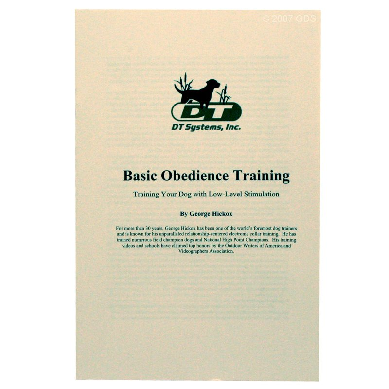 SPT-2422 Obedience Training