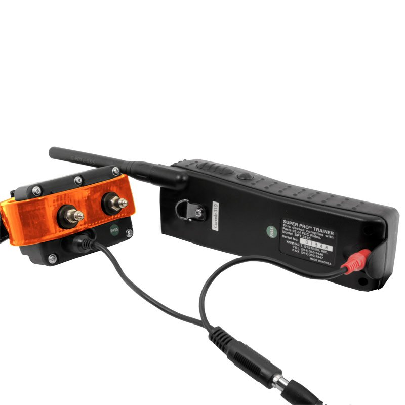 SPT 2430 Receiver and Transmitter on Charger
