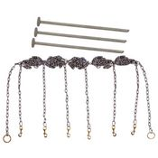 shop Stainless Steel Chain Gang 6-dog with Stakes