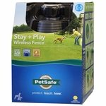 shop Stay + Play Wireless Pet Fence Box