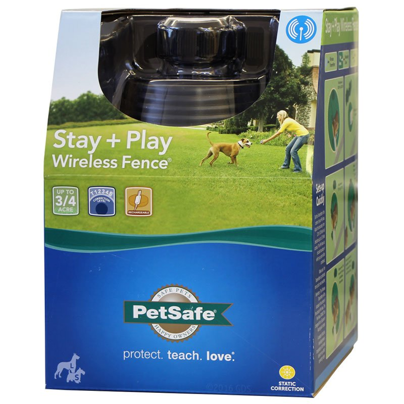 Stay + Play Wireless Pet Fence Box