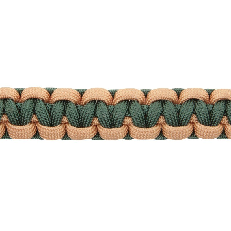 Stride Out II Green Side Braid Detail