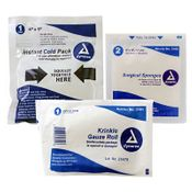 shop Instant Cold Pack, Surgical Sponges, Krinkle Gauze Roll