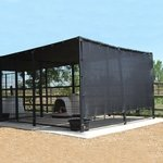 shop Sylmar Solar Shade Top and Side Coverage