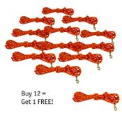 shop TBI Orange 20' Check Cord Club Discount -- BUY 12 GET 1 FREE!