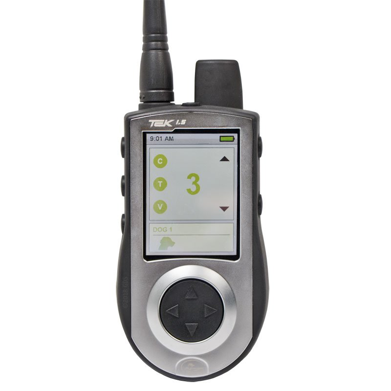 TEK 1.5LT Transmitter Training Screen