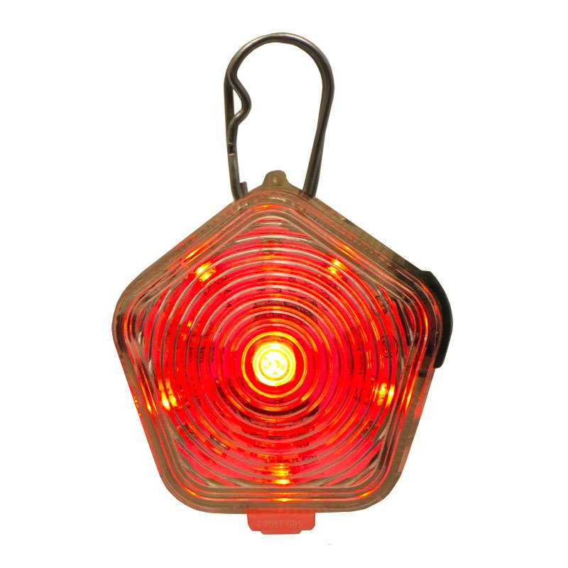 The Beacon Tri-Colored Light Red