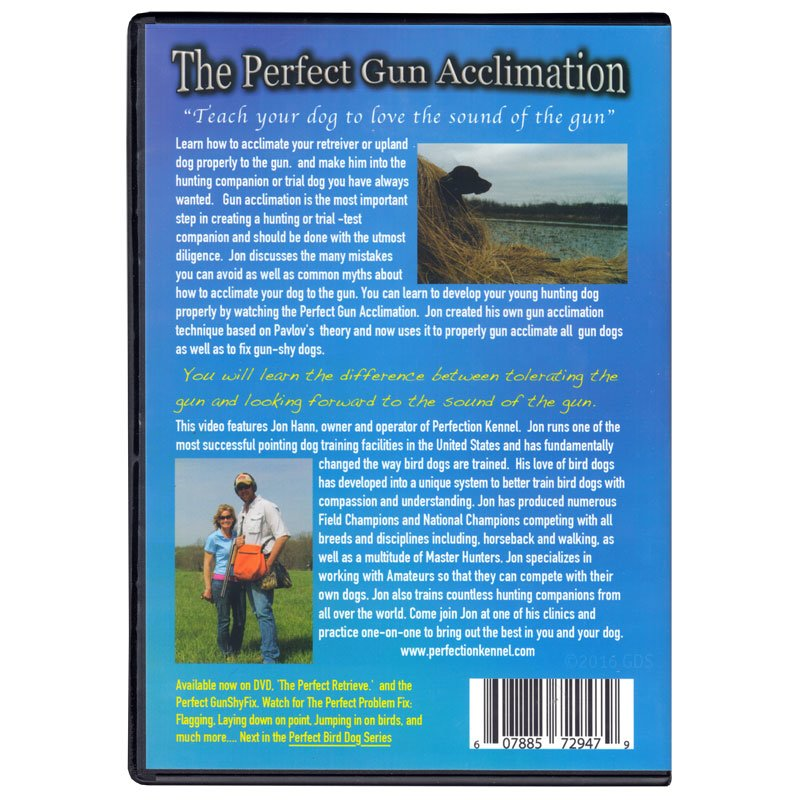 The Perfect Gun Acclimation Back Cover