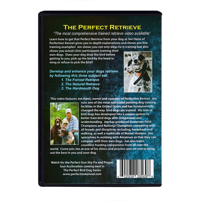 The Perfect Retrieve DVD back